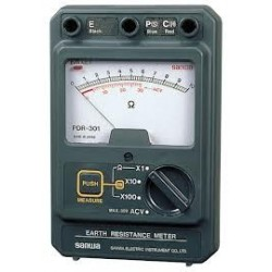 Đồng hồ đo điện trở đất Sanwa PDR-301