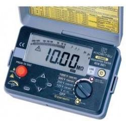 Đồng hồ đo điện trở cách điện kyoritsu 3021, (Mêgôm mét), KYORITSU 3021, K3021