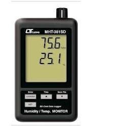 Đồng hồ đo độ ẩm lutron MHT-381SD