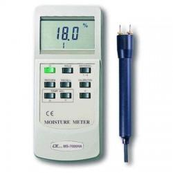 Đồng hồ đo độ ẩm gỗ, đất lutron MS-7000HA