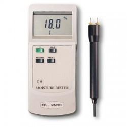 Đồng hồ đo độ ẩm gỗ, đất lutron MS-7001